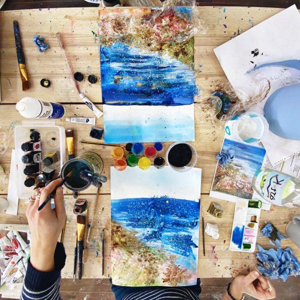 Adult art classes