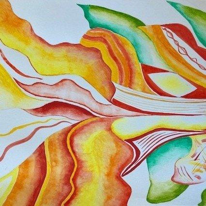 O'Keeffe inspired